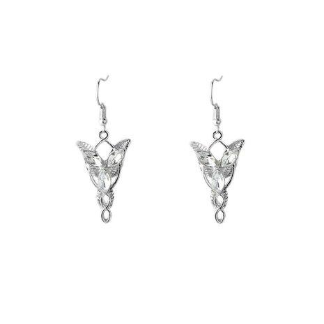Hobbit Seigneur des anneaux Seigneur des anneaux Elven Princess Twilight film style boucle d'oreille en gros nihaojewelry NHCU232158's discount tags