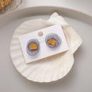 nouvelle racine fleur camlia boucles doreilles 925 aiguille en argent boucles doreilles courtes rtro en gros nihaojewelry NHMS232243