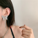 clavicle chain full diamond delicate smart butterfly choker super fairy tassel same earrings wholesale nihaojewelry NHYQ232298