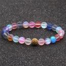 Hot Selling Moonstone Color Zirconium Diamond Ball Rose Gold Ball Bead Bracelet DIY Bracelet wholesale nihaojewelry NHYL232447