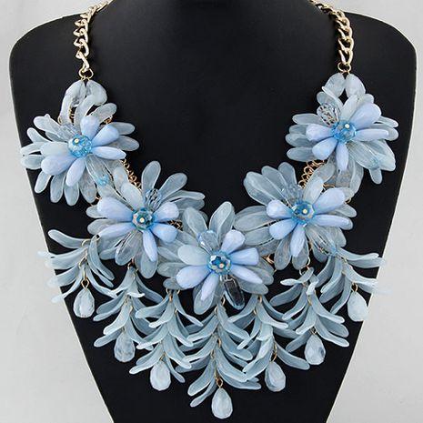 tendance de la mode simple bonbon fleur spectacle tempérament exagéré collier de mode en gros nihaojewelry NHSC232496's discount tags