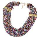 tendance de la mode style de clbrit Bohme multicouche collier de perles de riz en gros nihaojewelry NHSC232493