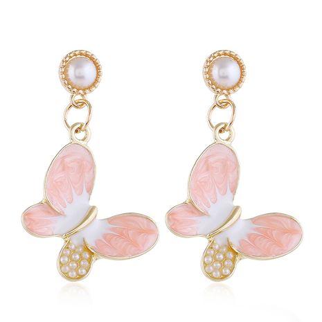 Boucles d'oreilles papillon doux de la mode coréenne simple et polyvalent en gros nihaojewelry NHSC232490's discount tags