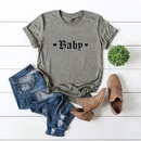 fashion womens cute BABYT shirt cotton tops short sleeve tshirt wholesale nihaojewelry NHSN232534