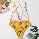 new hot sale coconut tree with system rope sexy backless bikini swimsuit wholesale nihaojewelry NHHL232620