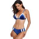 nouveau sexy split taille haute creux dentelle bikini maillot de bain dames bikini en gros nihaojewelry NHHL232646