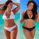 nouveau maillot de bain bikini surdimensionn maillot de bain sexy couleur unie bikini maillot de bain en gros nihaojewelry NHHL232647