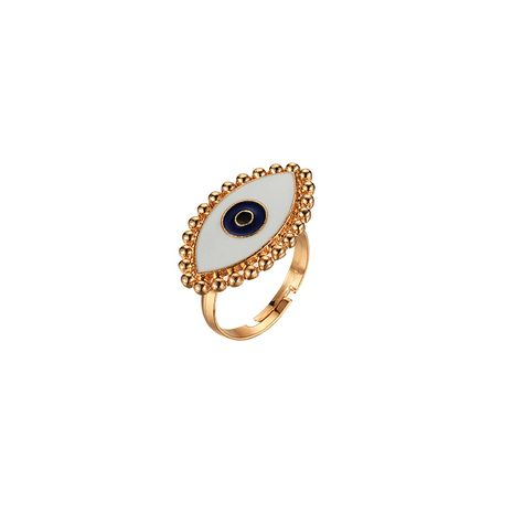 new ring ladies fashion demon eye ring fashion open punk ring wholesale NHOT232902's discount tags