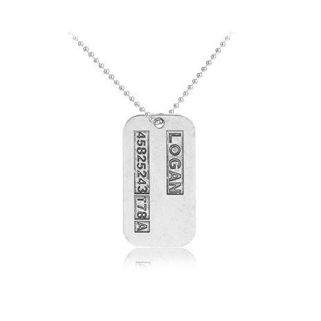 vente chaude bijoux X-Men Wolverine rétro pendentif collier en gros nihaojewelry NHCU232765's discount tags