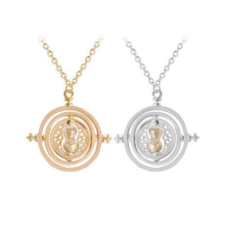 Harry Potter time converter pendant necklace burst necklace wholesale nihaojewelry NHCU232775's discount tags