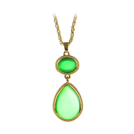 hot selling film peripheral idol drama East District Witches Necklace wholesale nihaojewelry NHCU232779's discount tags