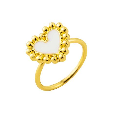 new ring ladies women's love ring fashion opening dripping oil punk ring wholesale NHOT232898's discount tags