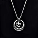 bijoux populaires Je taime Le collier coeur MoonandBack collier soleil lune gros nihaojewelry NHCU232786