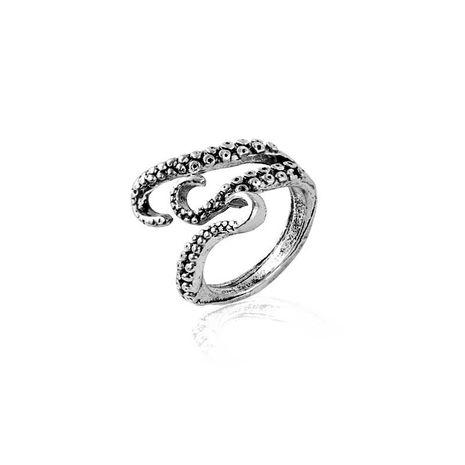 mode rétro hommes pieuvre anneau alliage bague commune en gros nihaojewelry NHCU232787's discount tags