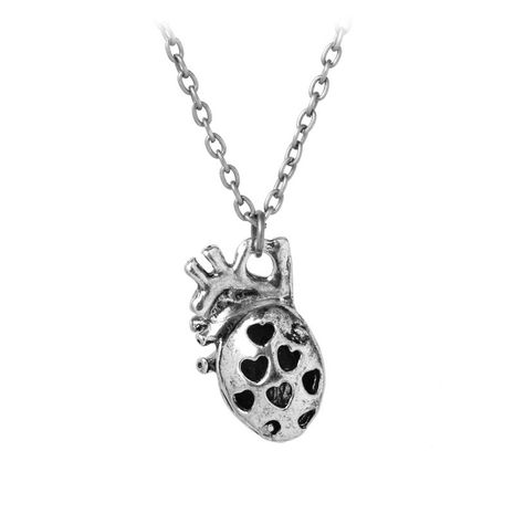 fashion new Men's Anatomical Heart Pendant Necklace wholesale nihaojewelry NHCU232793's discount tags