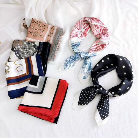 small square scarf  neck protector Korean suit small scarf wholesale nihaojewelry NHMN232833's discount tags