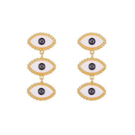 evil's eye earrings new exaggerated devil's eye earrings celebrity fashion punk style earrings women NHOT232888's discount tags