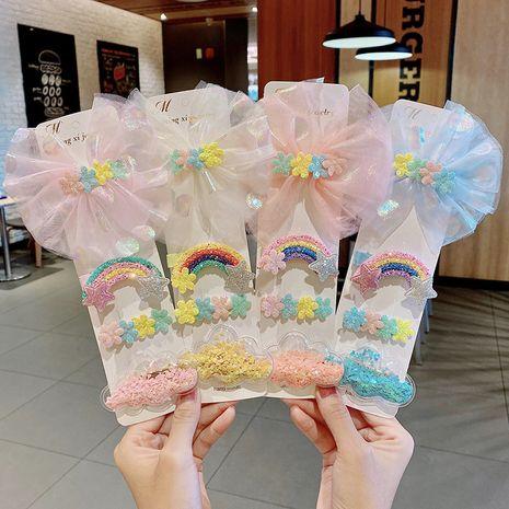 Horquilla para niños horquilla linda pinza para la nube accesorios para el cabello pinza para el pelo del bebé pinza bb NHNA233016's discount tags