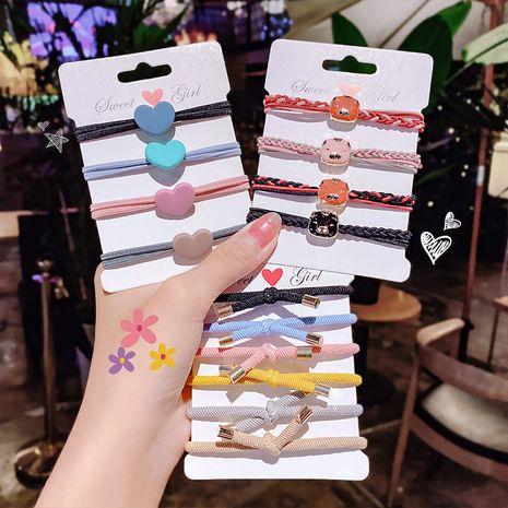 Gomas para el cabello coreanas accesorios para el cabello cuerda para la cabeza cabello atado simple bowknot banda de goma Yiwu cuerda para el cabello NHNA233020's discount tags