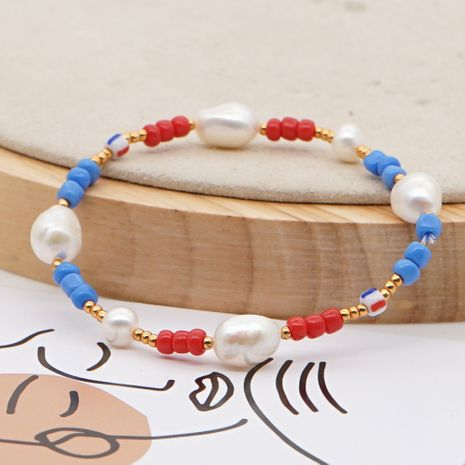 fashion new  ethnic style Baroque natural freshwater beautiful pearl bracelet female jewelry nihaojewelry wholesale  NHGW233037's discount tags