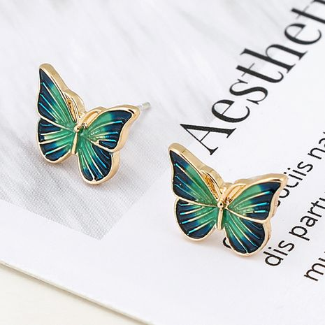 simple small  fashion butterfly  new  personality wild earrings nihaojewelry wholesale  NHXI233081's discount tags
