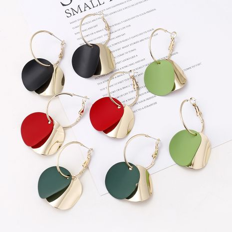 Korean  simple temperament  round earrings  personality fashion  earrings nihaojewelry wholesale NHXI233088's discount tags