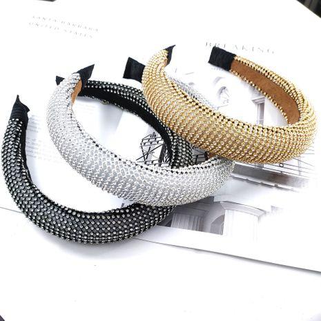 diadema de lujo de moda de alta gama diadema de malla de diamante de alta gama para mujer diadema de mujer NHUX233152's discount tags