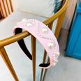 NHUX796714-Light-pink-leather-pearl-flat-headband