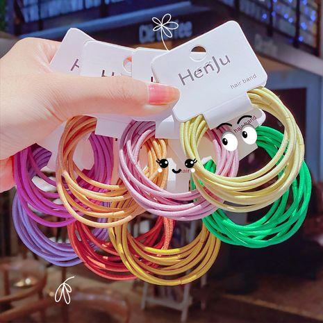 color del caramelo gomas para el cabello cuerda para la cabeza banda de goma anillo para el cabello tocado corbata simple traje para el cabello color básico cuerda para el cabello accesorios para el cabello NHNA233021's discount tags