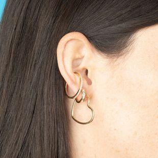 simple  new trendy Korean love earrings set wholesale  NHLL239998's discount tags