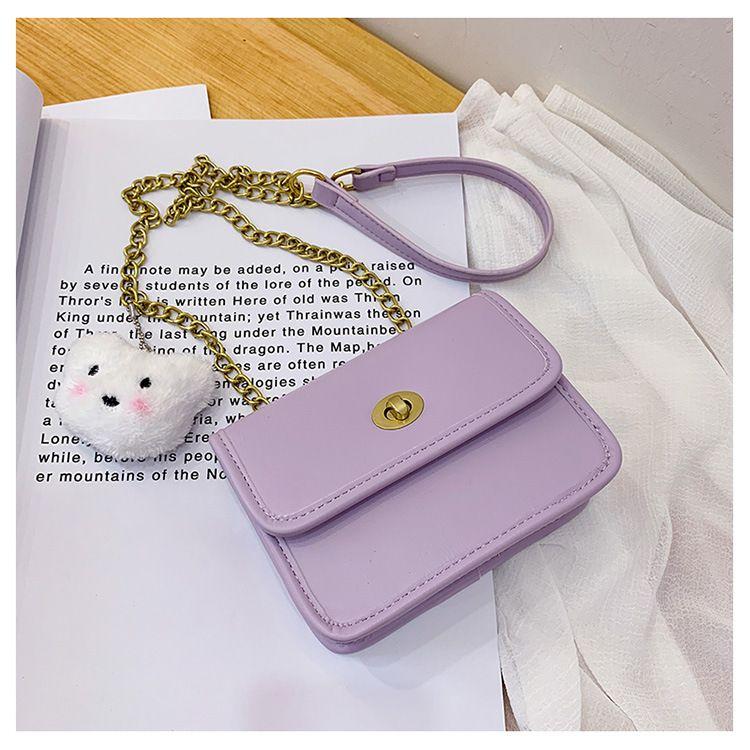 simple Retro style fashion one-shoulder handbag messenger square bag wholesale NHTC240116