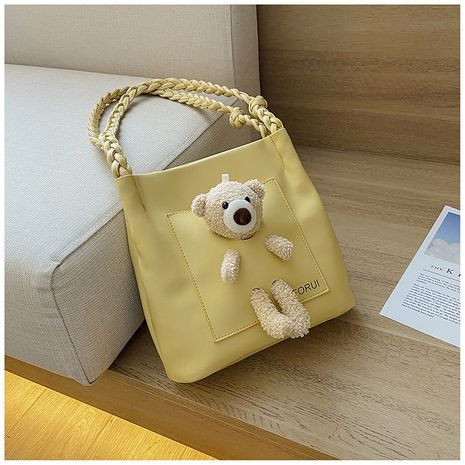 new trendy cartoon shoulder bag large-capacity portable tote bag wholesale nihaojewelry NHTC240126's discount tags