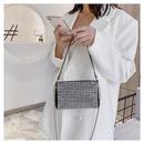 new trend  fashion chain bag shoulder messenger diamond mini bag wholesale  NHTC240170