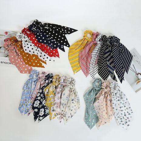 Tête créative corde streamer long gland anneau de cheveux en mousseline de soie chouchous de cheveux en gros nihaojewelry NHOF240228's discount tags