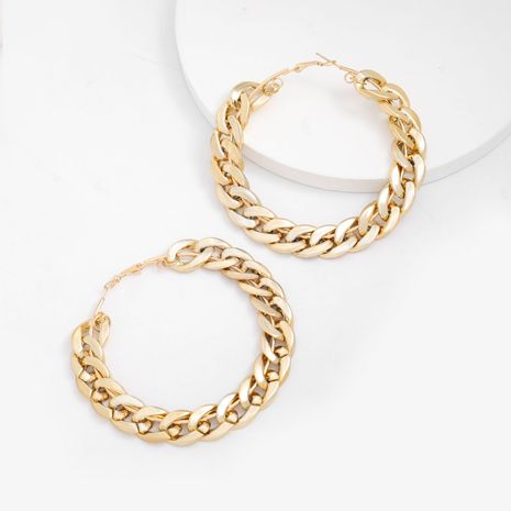 fashion new circle simple style earrings wholesale  NHJE240264's discount tags