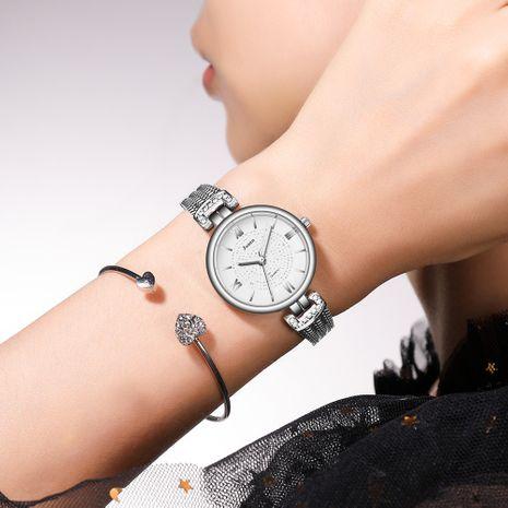 Fashion gypsophila fine strap bracelet watch Roman rhinestone watch wholesale nihaojewerly NHSS242862's discount tags