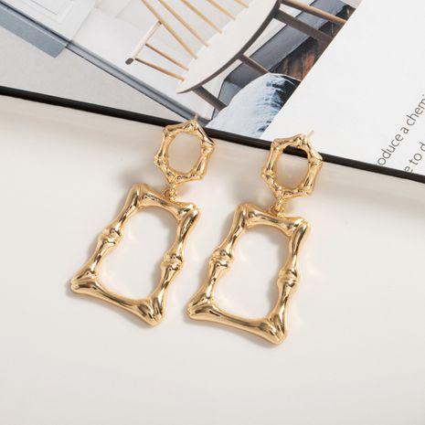 retro pendant bamboo earrings wholesale nihaojewelry NHAI242868's discount tags