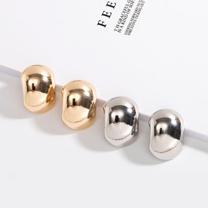 trend retro fashion metal beanie  simple alloy earrings for women NHAI242883