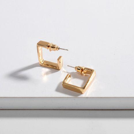 Fashion new trendy three-dimensional geometric simple Korean small earrings for women NHAI242893's discount tags