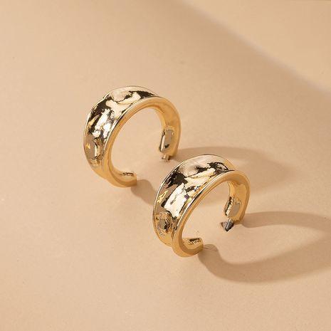 niche C-shaped Korean simple fashion alloy earrings wholesale NHAI242906's discount tags