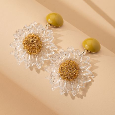 Korea cute flowers new sweet and simple forest earrings wholesale nihaojewerly NHAI242907's discount tags