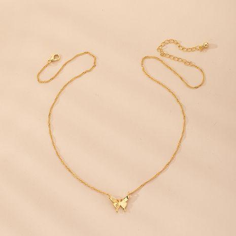 collier pendentif papillon long en alliage simple NHAI242913's discount tags