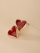 Korean new trendy fashion simple ear jewelry earrings for women wholesale NHAI242918