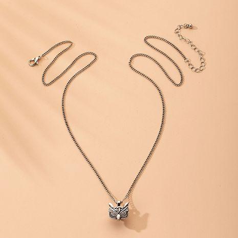 Forme la nueva venta al por mayor caliente-saling del collar de la aleación en forma de búho NHAI242935's discount tags