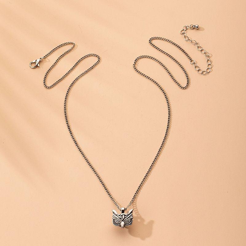 Fashion new  owl-shaped alloy necklace hot-saling wholesale  NHAI242935