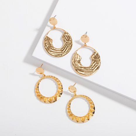 Korea retro exaggerated simple  high fashion street style alloy earrings NHAI242942's discount tags