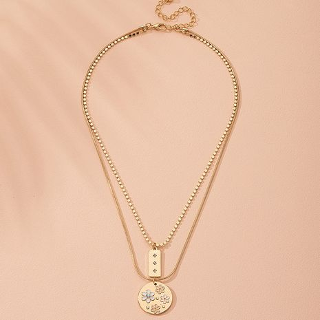 new fashion simple pendant hot-selling alloy necklace for women wholesale  NHAI242956's discount tags
