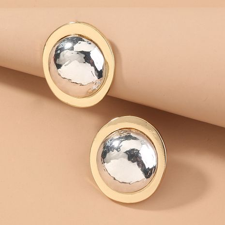 hot-selling metal round retro fashion earrings wholesale nihaojewelry NHAN243140's discount tags