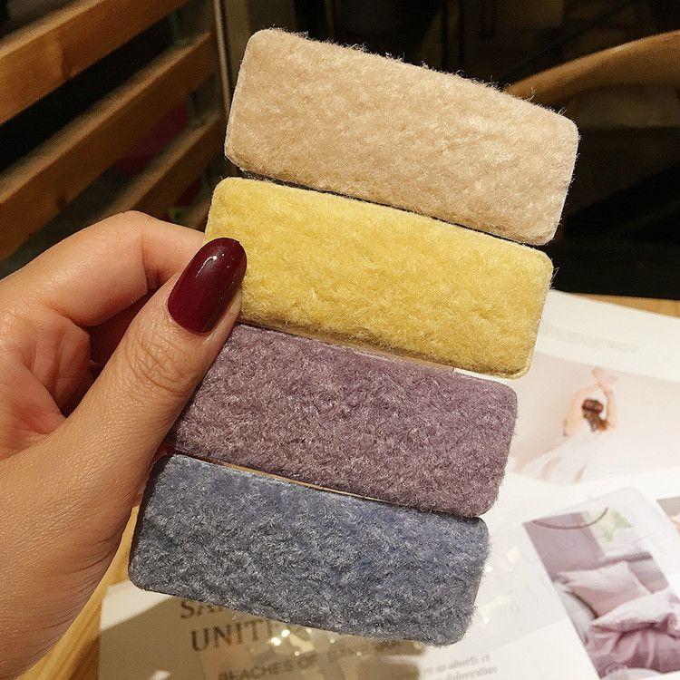 Korean simple new lamb hair clip wholesale nihaojewerly NHRH243201