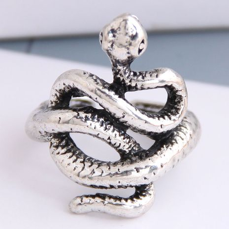 New fashion metal snake alloy open ring hot-saling wholesale NHSC243291's discount tags